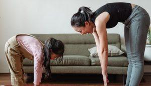 جدول تمارين رياضية للنساء في المنزل