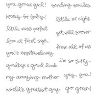 Greatest Greetings Clear-Mount Stamp Set by Stampin' Up!