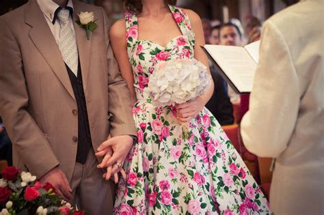 Vivien of Holloway Wedding Dress Village Hall Wedding