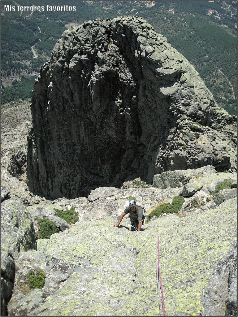 RUBIA DE BOTE ...XOXETE MORENOTE 100 m EDsup 6c+ (6c obl) - TOROZO NORTE o ALTO DE LOS MONTESES 2021m