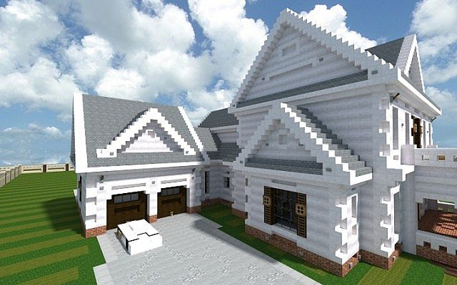 Minecraft Amazing House Designs With Step By Step Instructions Lock Down L