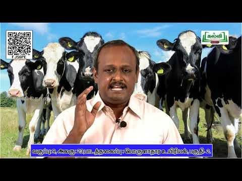 9th Science Science பொருளாதார உயிரியல் அலகு 23 பகுதி 2  TM Kalvi TV