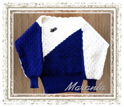 kimonowy sweter