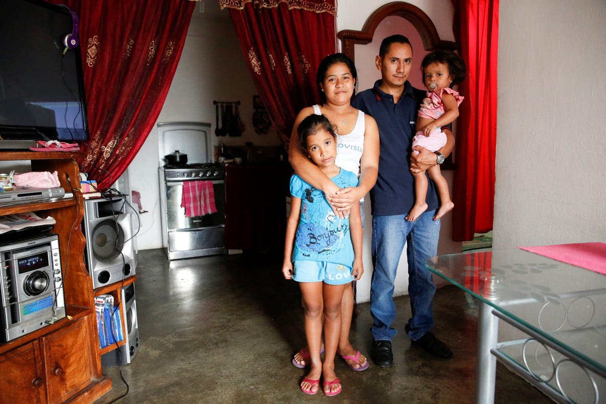 """We have about 15 days eating bread with cheese or arepa with cheese,"" Lender Perez said. ""We are eating worse than before, because we can't find food and those we can find we can't afford."""