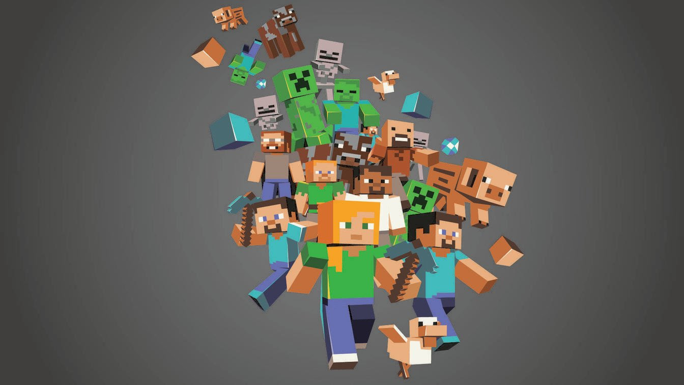 Minecraft Backgrounds  Wallpaper Cave