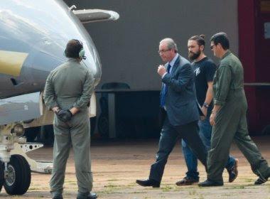 Eduardo Cunha comparece em audiência de testemunhas de acusação