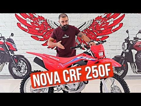 Conheça a nova CRF 250F 2022