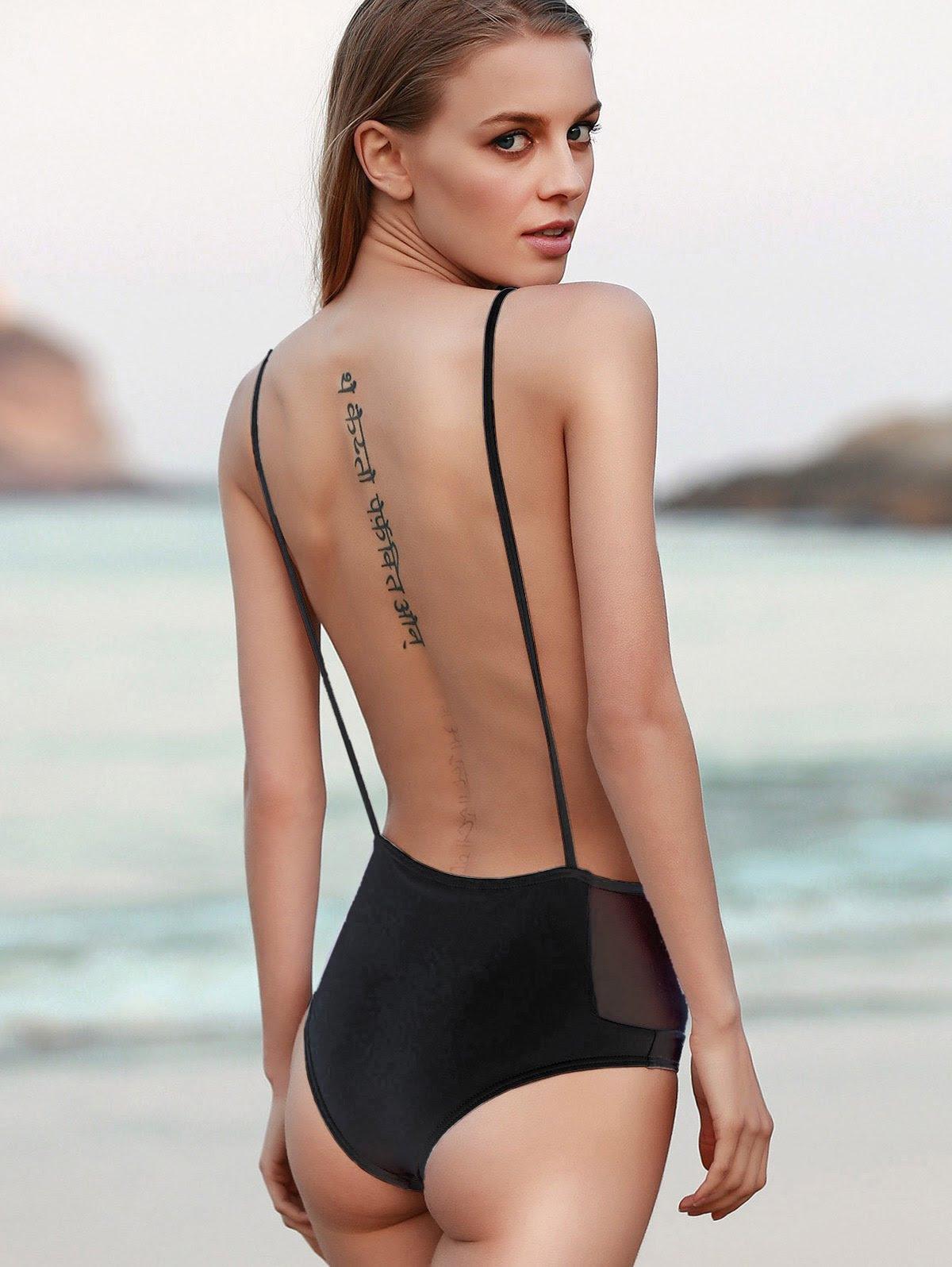 Long sleeve Cutout High Neck Sleeveless Black Sheath Dress online los angeles