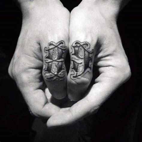 simple hand tattoos men cool ink design ideas