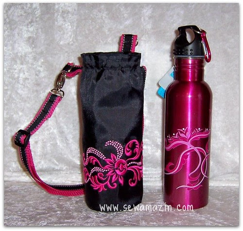 Insulated Water Bottle Carriers & Matching Bottles