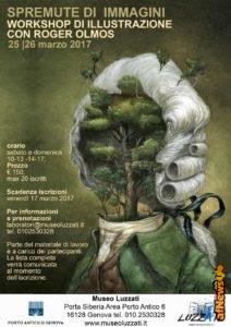 """Al Luzzati """"spremute di immagini"""": workshop imperdibile con Roger Olmos"""