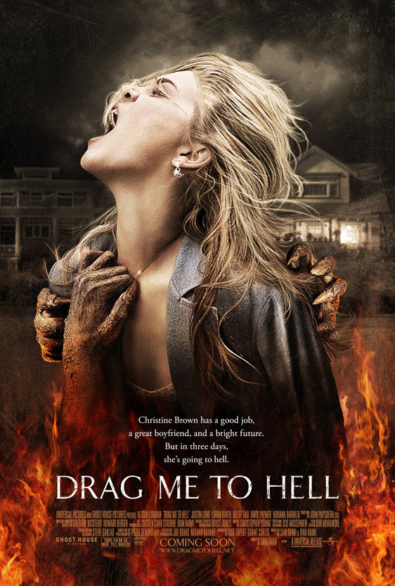 Drag Me To Hell theatrical poster [click to enlarge]