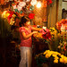 Flower Seller at Pagoda
