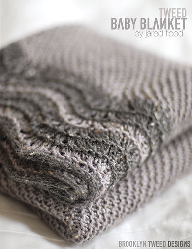Tweed Baby Blanket Pattern Now Available