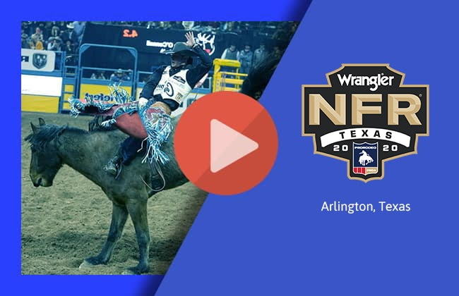 How to Watch NFR Live Stream 2020 Arlington Texas National Finals Rodeo day 1,2,3,4,5