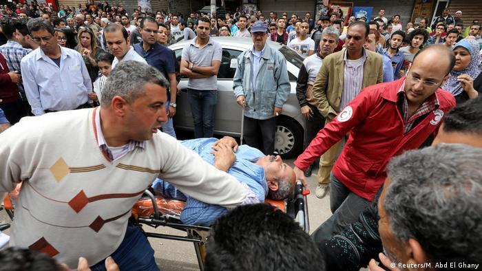Ägypten Anschlag in Tanta (Reuters/M. Abd El Ghany)