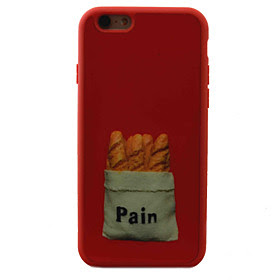 BUY For iPhone 7 7plus 6S 6plus iPhone Case Cover Bread Pattern TPU Material OFFER