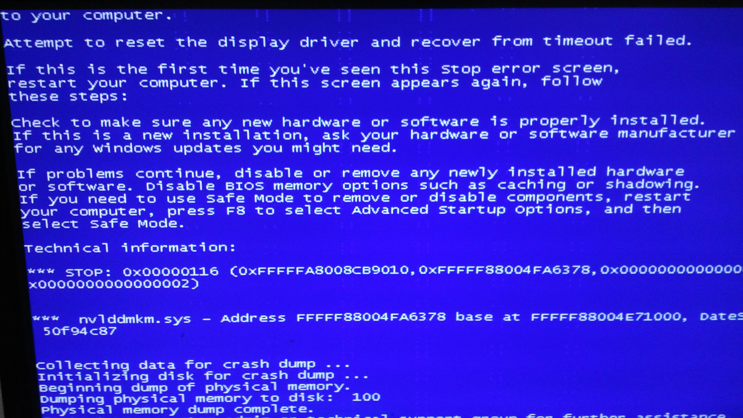 Image result for Display Driver Crash