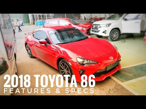VIDEO: Toyota 86 AT   Pure Red   Features & Specs (Philippines)   Video by Marvin Masongsong