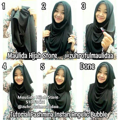 gambar tutorial hijab fatimah halilintar tutorial hijab