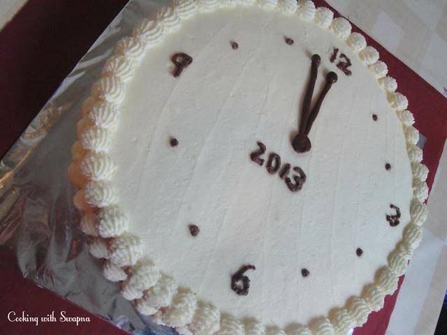 clock cake 3