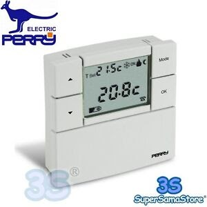 Il meglio di potere termostato ambiente digitale perry gbc for Perry cr309 s manuale d uso