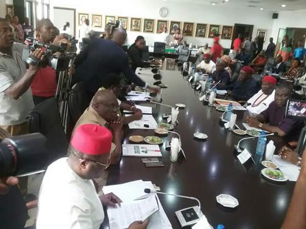 South-East Governors, Ekweremadu in Closed-door Meeting Over IPOB & Army Clash