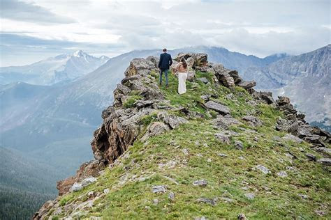 This epic elopement in Rocky Mountain National Park was