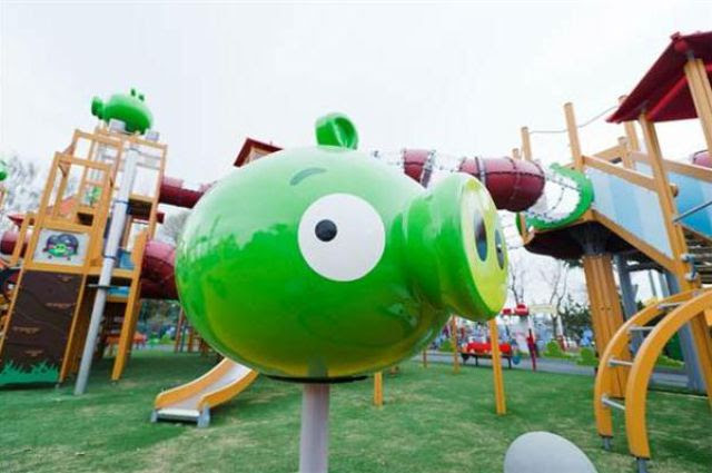 Angry Birds Theme Park in Finland