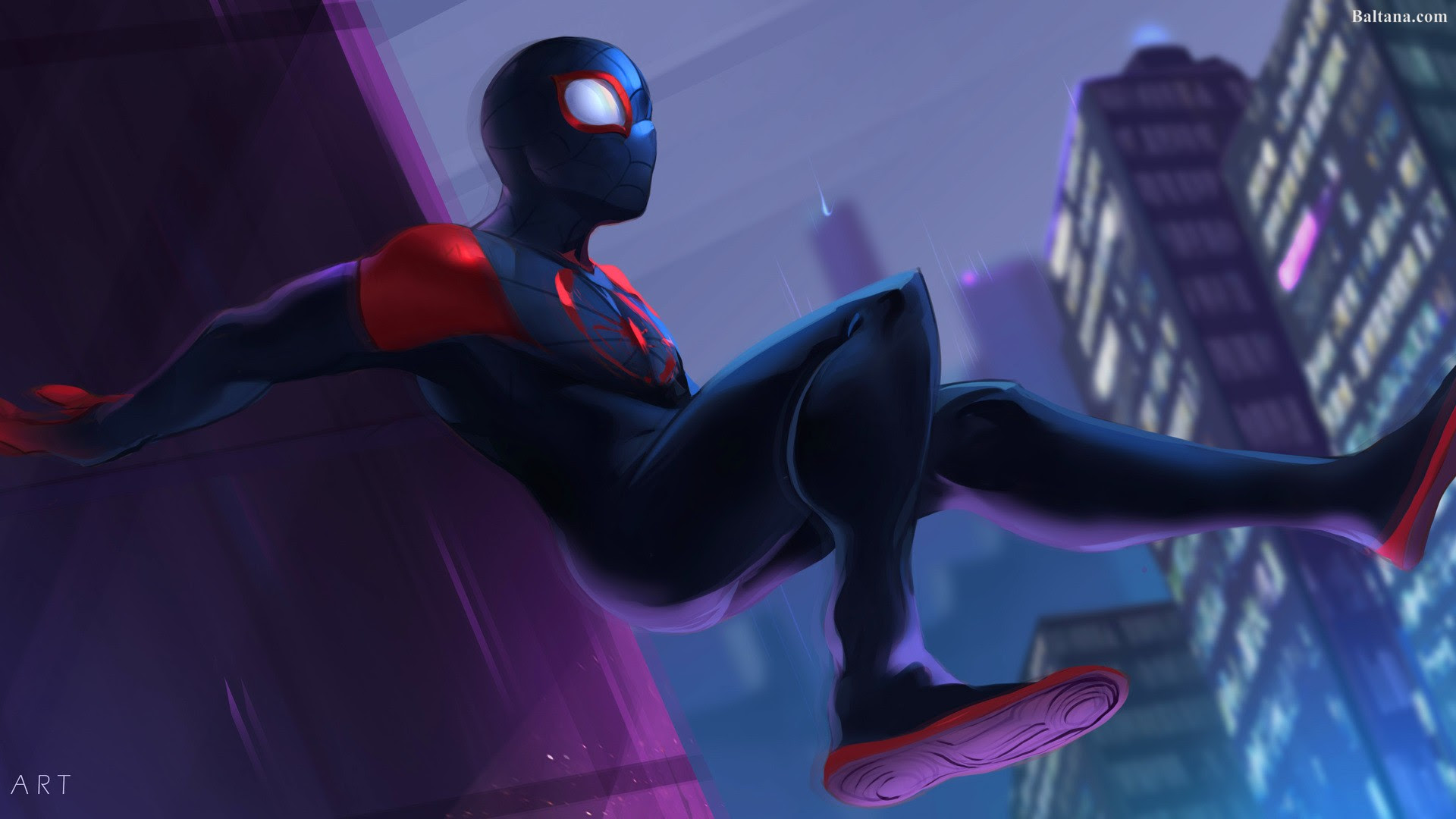 Spiderman Into The Spider Verse Hd Wallpapers 29948 Baltana