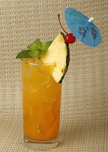 Refreshing Drink from Trader Sam's-Enchanted Tiki Bar