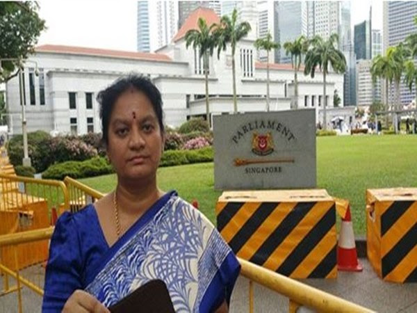 AIADMK MP Sasikala Pushpa says, i am in singapore