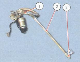 статья про замена тяг привода стеклоочистителя ВАЗ 2106
