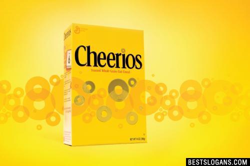 Catchy Cheerios Slogans Taglines Mottos Business Names