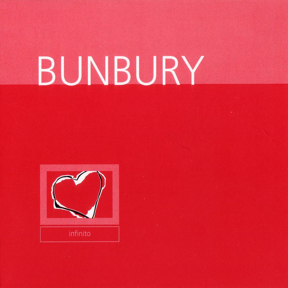 Resultado de imagen de portada ep infinito bunbury