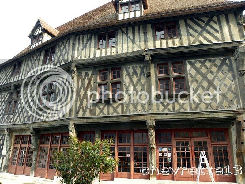 La maison du saumon à Chartres