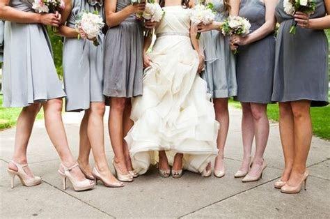 Bridesmaids shoe color : wedding bridesmaids color shoes
