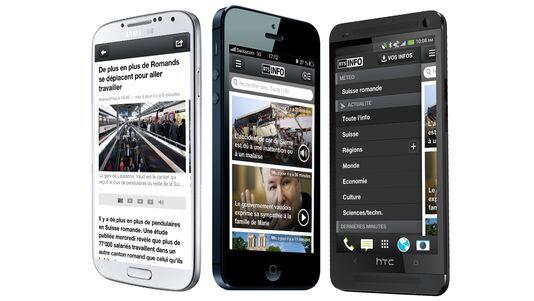 La nouvelle application RTSinfo propose le meilleur du multimédia RTS. [RTS]