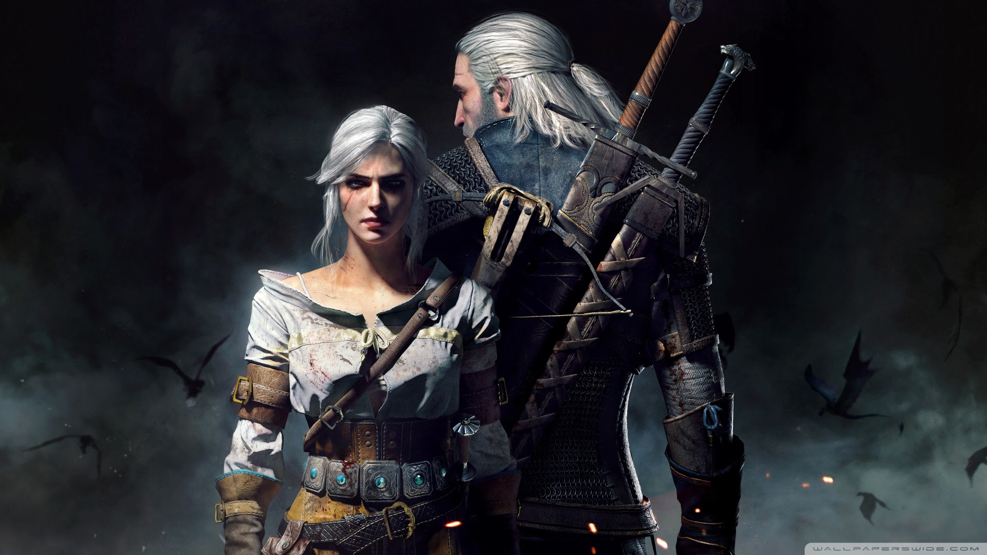 The Witcher 3 Wild Hunt Geralt And Ciri Uhd Desktop