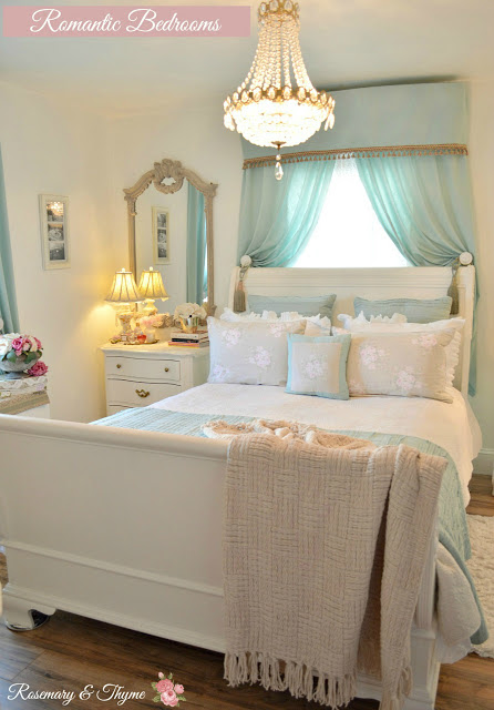 Romantic Bedrooms - Rosemary & Thyme