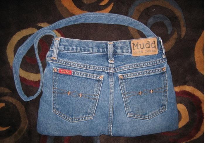 בא במייל -איך להכין תיק מג'ינס ישן
