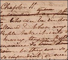 Jane Austen's handwriting