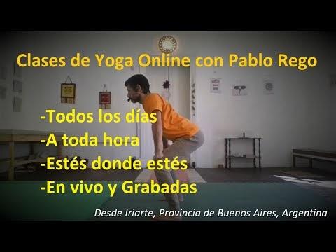 Accede a las Clases de Yoga Online con Pablo Rego desde cualquier parte del Mundo.