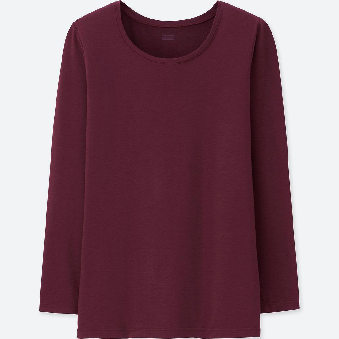 Uniqlo Heattech Crew Neck T-Shirt