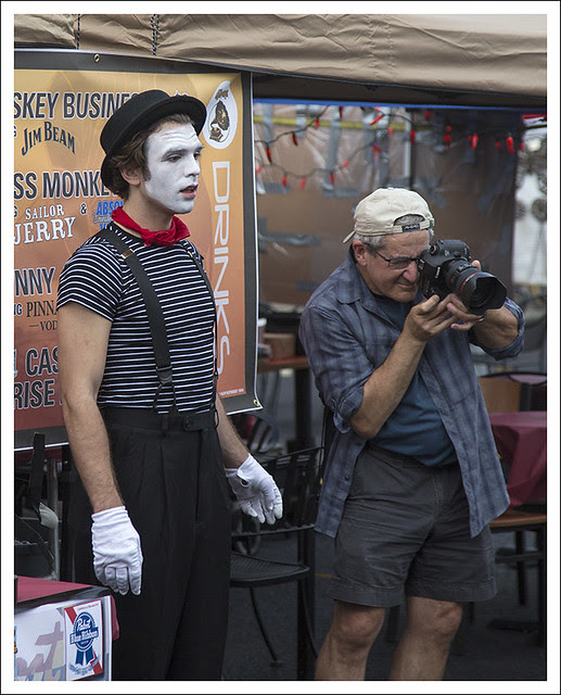 Mime and Photographer