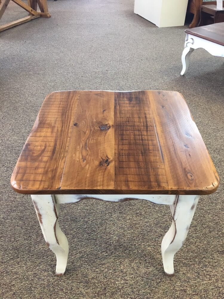 Creole Leg End Table @ Baton Rouge BR-394 SOLD - ALL Wood ...