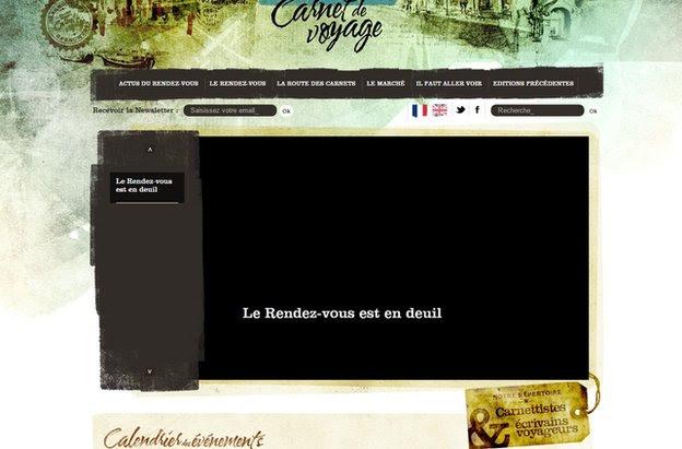 Carnet de Voyage festival website