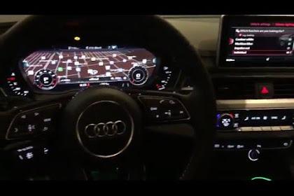 2018 Audi S4 Interior Lighting