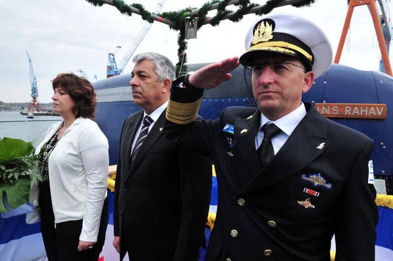 Спущена на воду пятая подлодка класса Dolphin для ВМС Израиля