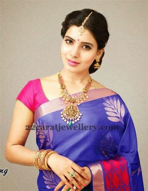 Samantha in Lakshmi Necklace   1   Classic Fashion from